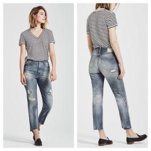 AG The Phoebe Vintage high rise step hem jeans